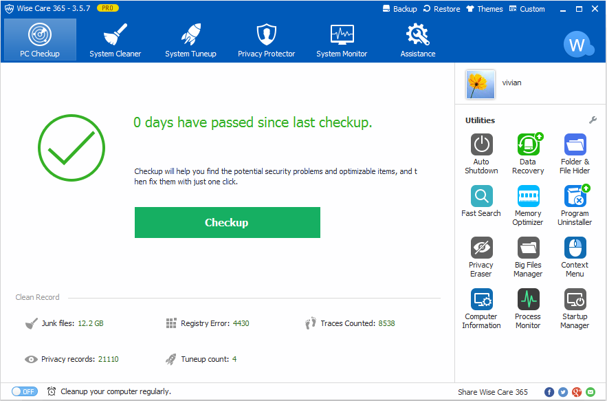 Wise Care 365 Pro 5.4.2 Build 537 Crack Plus Serial key 2020 Free Download