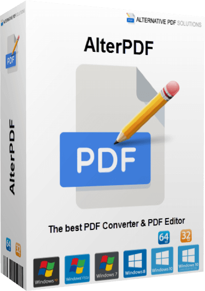 AlterPDF Pro 4.9 Crack With License Key[Latest 2021] Free Download
